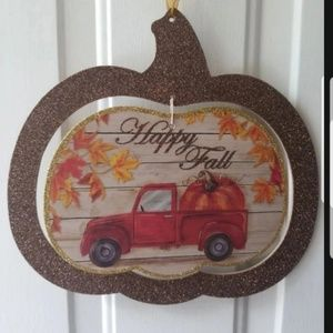 🍁Fall Vintage Truck Decor